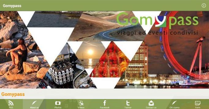 Gomypass consigli di viaggio poster
