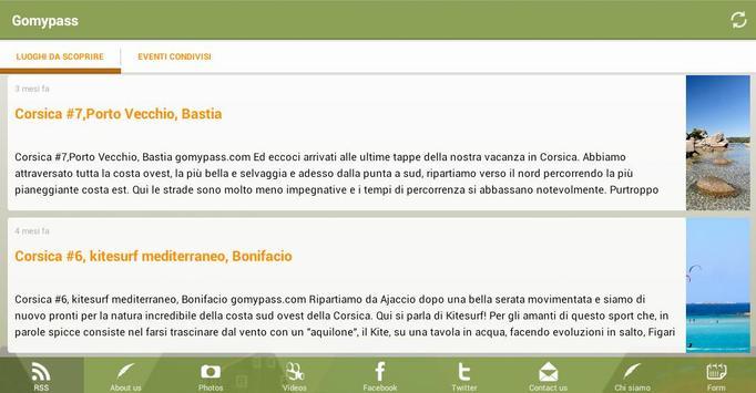 Gomypass consigli di viaggio apk screenshot
