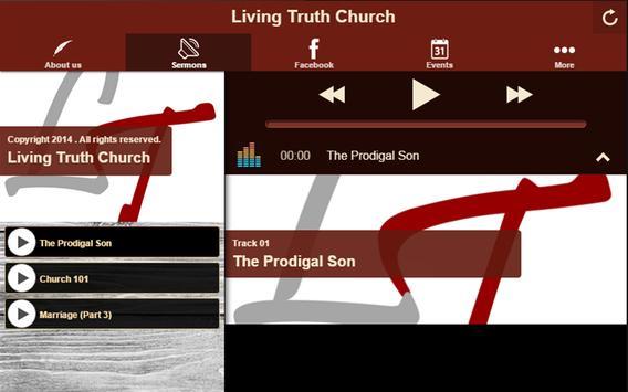 Living Truth Church apk screenshot