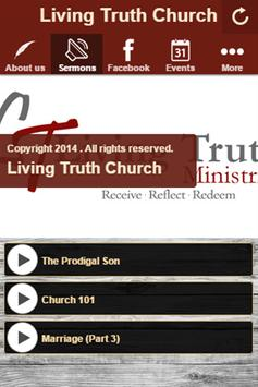 Living Truth Church poster