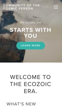 Ecozoic on the Run poster