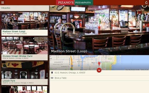 Pizano's Pizza & Pasta apk screenshot