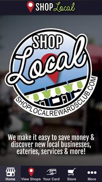 Shop Local Rewards Club poster