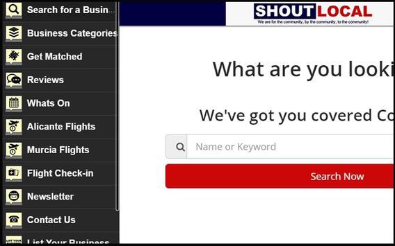 Shoutlocal.com apk screenshot