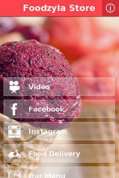 Foodzyla Store screenshot 1