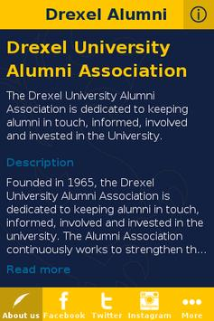 Drexel Alumni poster