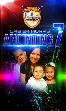 radio anointing 7 poster