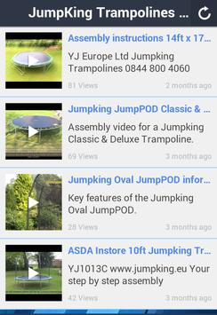 Jumpking Trampolines apk screenshot
