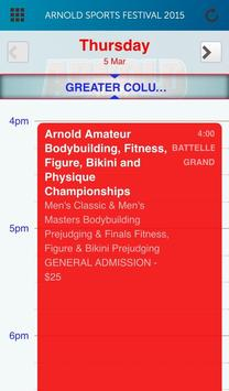 Arnold Sports Festival 2015 apk screenshot