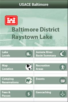 USACE Baltimore screenshot 1
