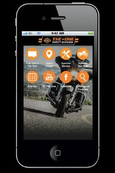 The One Harley-Davidson poster