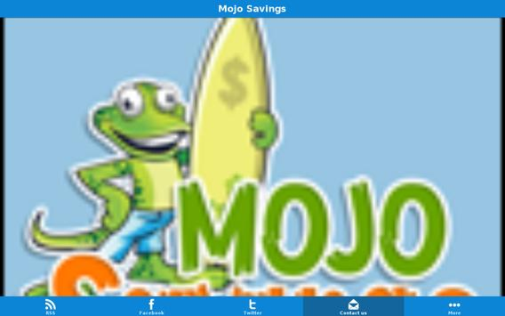 Mojo Savings apk screenshot