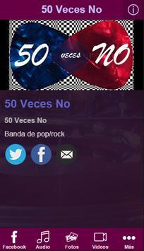 50 Veces No poster