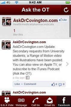 Ask the OT apk screenshot