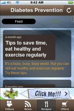 Free Diabetes Prevention Tips. apk screenshot