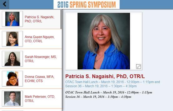 OT Spring Symposium apk screenshot
