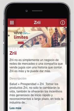 Zrii Latinoamérica apk screenshot