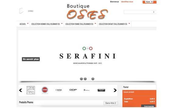 Boutique OSES screenshot 5