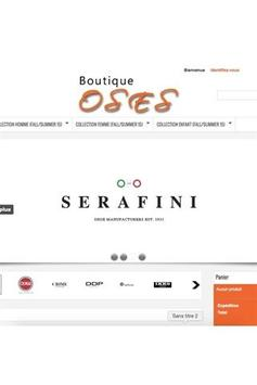Boutique OSES screenshot 1