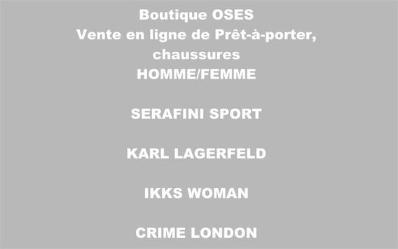 Boutique OSES screenshot 2