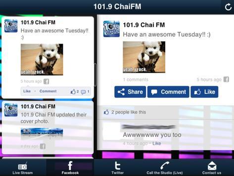 101.9 ChaiFM screenshot 4