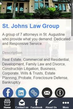 St. Johns Law Group poster
