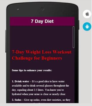 7 Day Diet screenshot 2