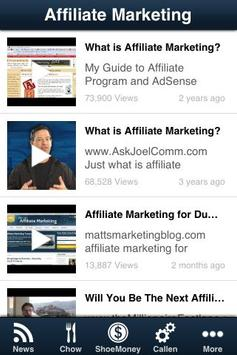 Affiliate Marketing screenshot 3