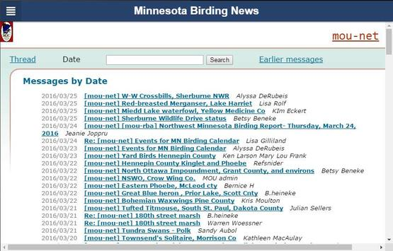 Minnesota Birding News screenshot 6