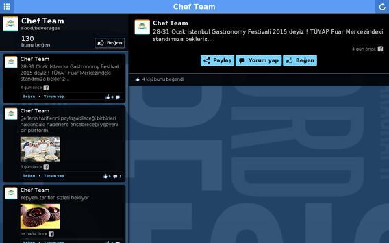 Chef Team apk screenshot