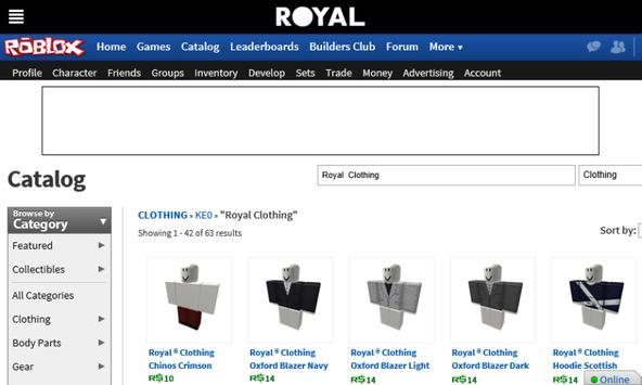 Royal ® Clothing screenshot 3