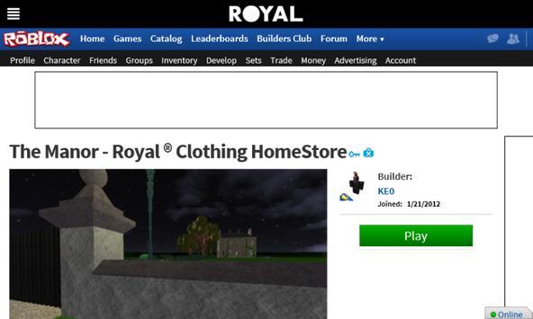 Royal ® Clothing screenshot 2