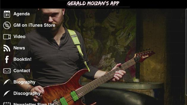 GM App - Gerald Moizan App screenshot 1