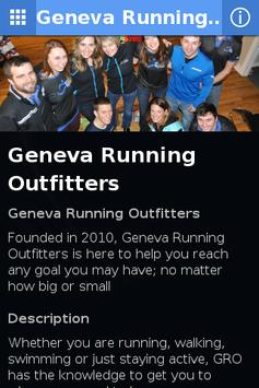 Geneva Running Outfitters poster