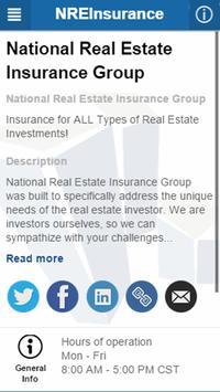NREInsurance apk screenshot