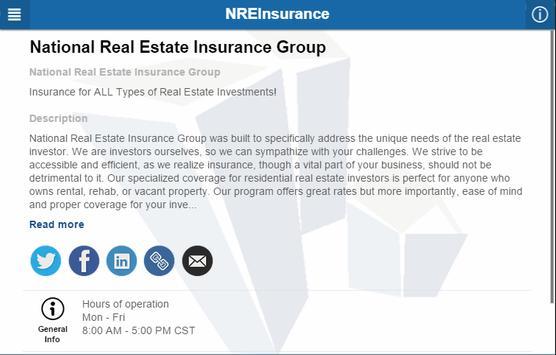 NREInsurance screenshot 2