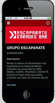 Escaparate Bar apk screenshot