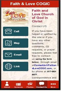 Faith and Love COGIC App screenshot 1
