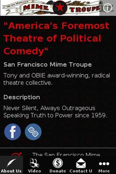 San Francisco Mime Troupe apk screenshot