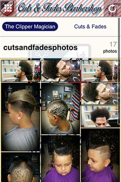 Cuts And Fades Barbershop poster