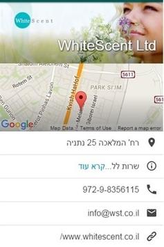 WhiteScent וויטסנט poster