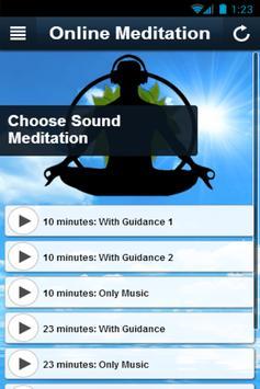 Online Meditation apk screenshot