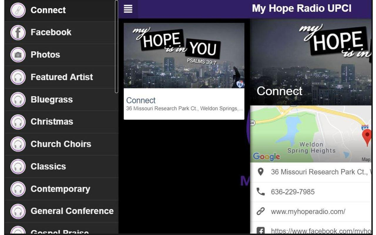 My hope radio upci for android apk download.