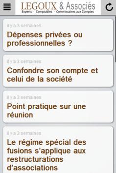 LEGOUX Expert Comptable apk screenshot