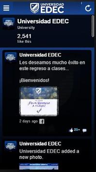 Universidad EDEC v2 apk screenshot