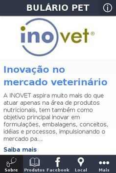 Bulário Inovet Pet poster