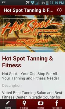 Hot Spot Tanning & Fitness poster