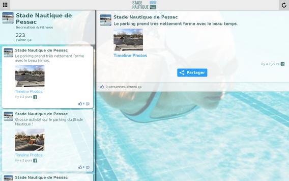 Stade Nautique de Pessac apk screenshot