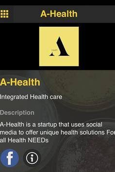A-Health apk screenshot