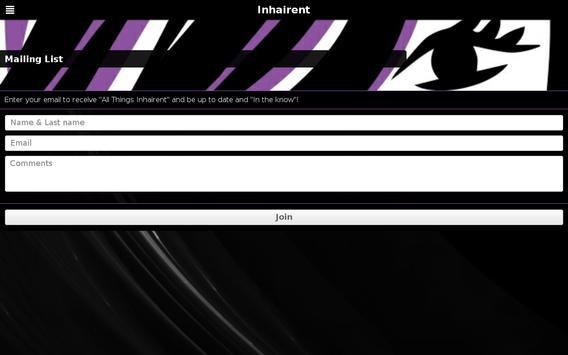 Inhairent apk screenshot